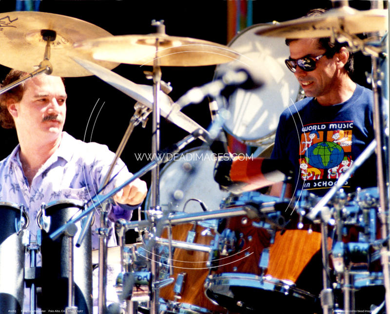Bill Kreutzman, Mickey Hart - May 3, 1987