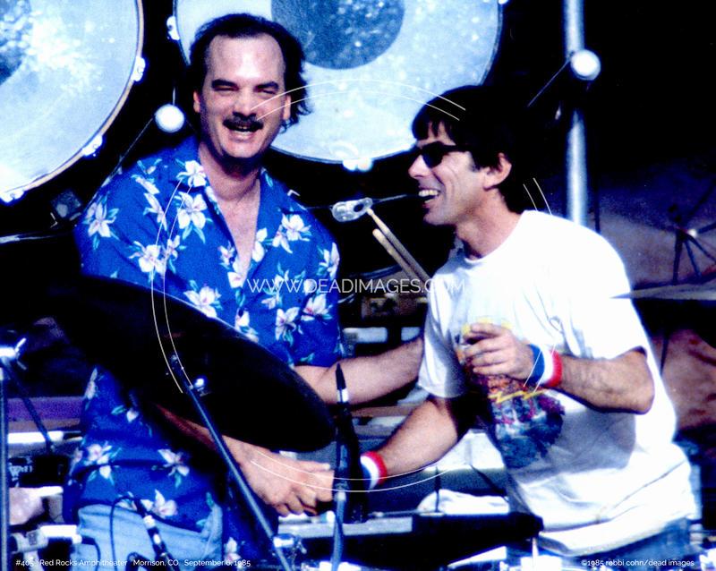 Bill Kreutzman, Mickey Hart - September 6, 1985