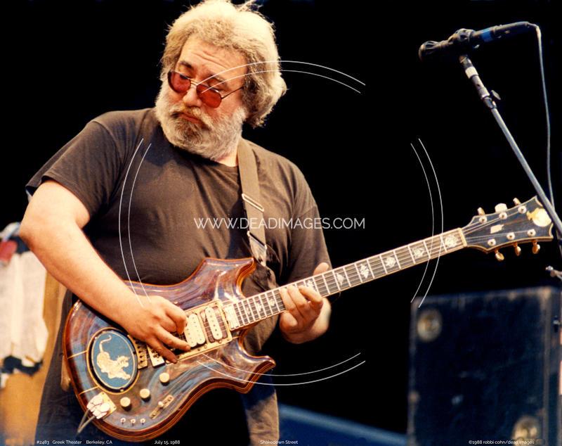 Jerry Garcia - July 15, 1988
