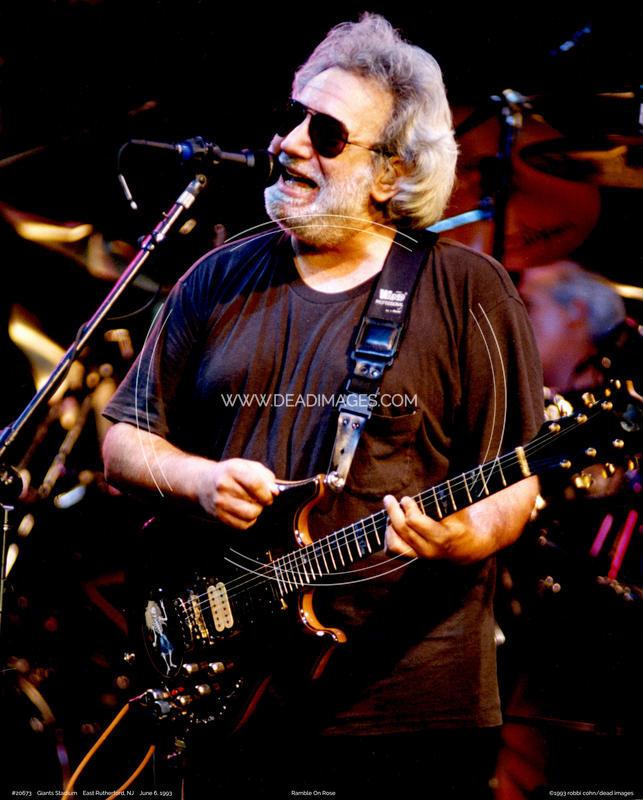 Jerry Garcia - June 6, 1993