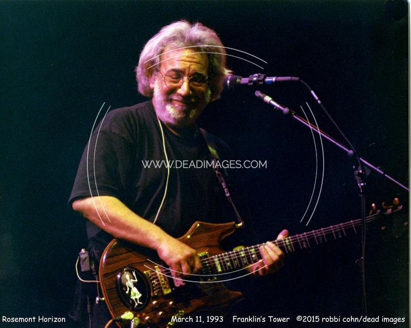 Jerry Garcia - March 11, 1993