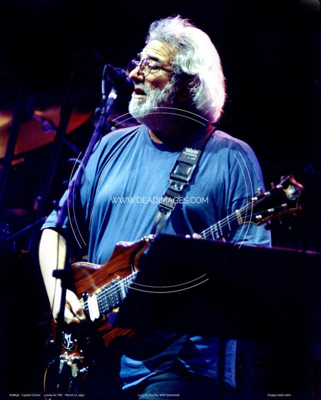 Jerry Garcia - March 17, 1993