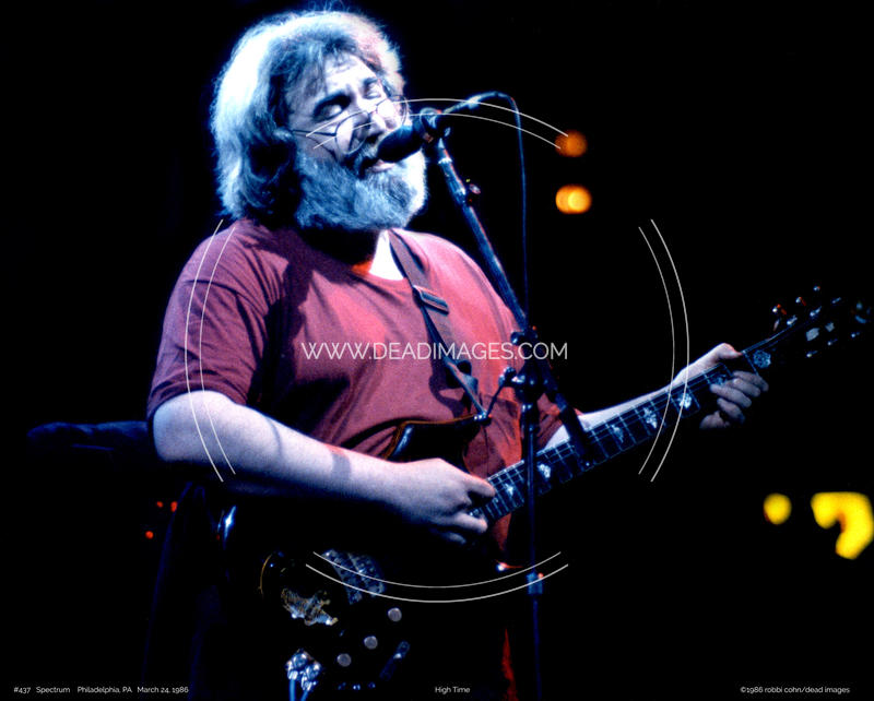 Jerry Garcia - March 24, 1986