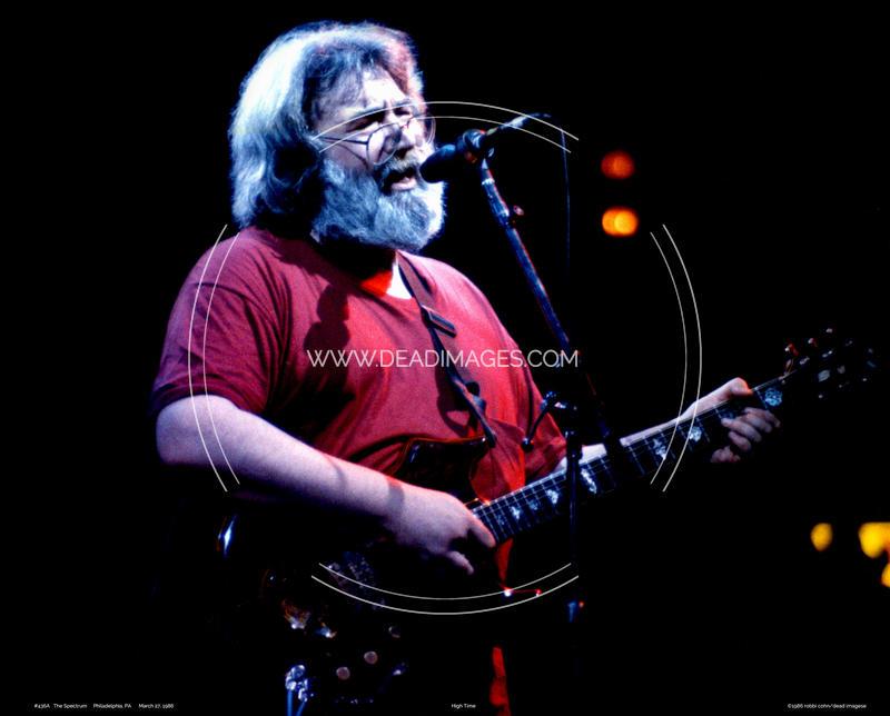 Jerry Garcia - March 24, 1986
