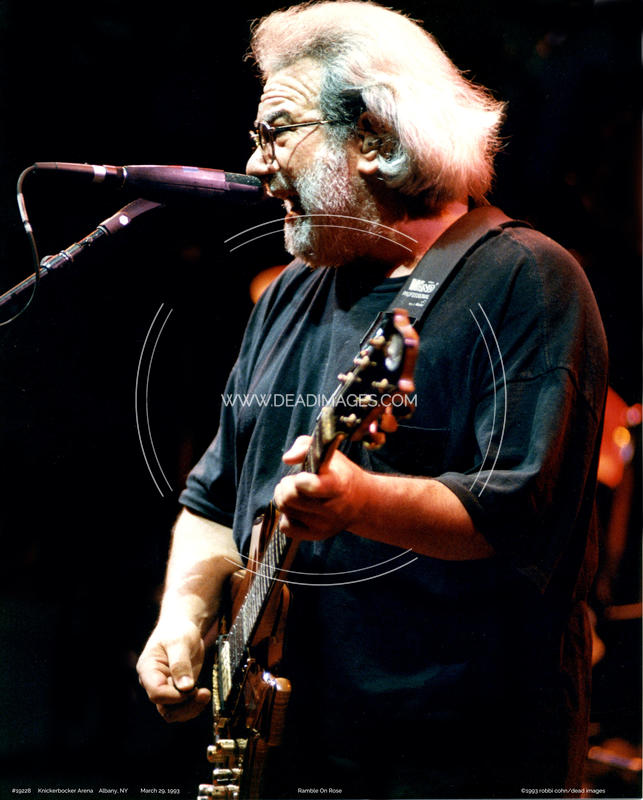 Jerry Garcia - March 29, 1993