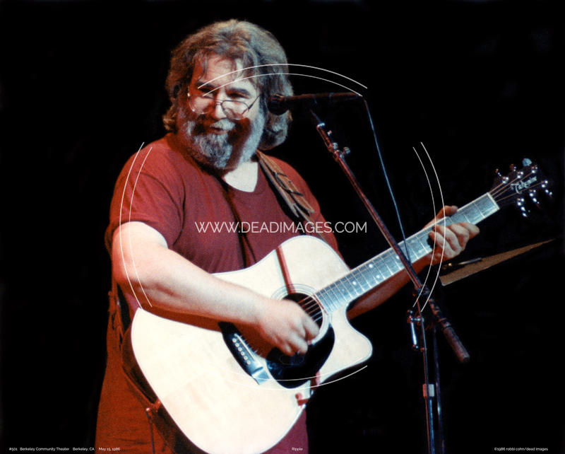 Jerry Garcia - May 15, 1986