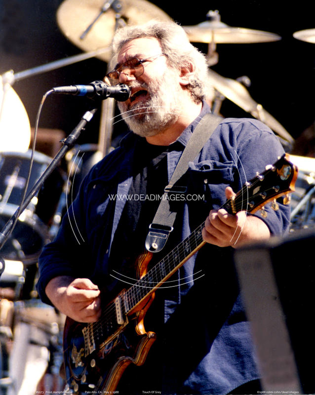 Jerry Garcia - May 1, 1988
