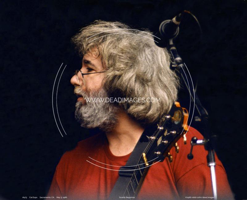 Jerry Garcia - May 3, 1986