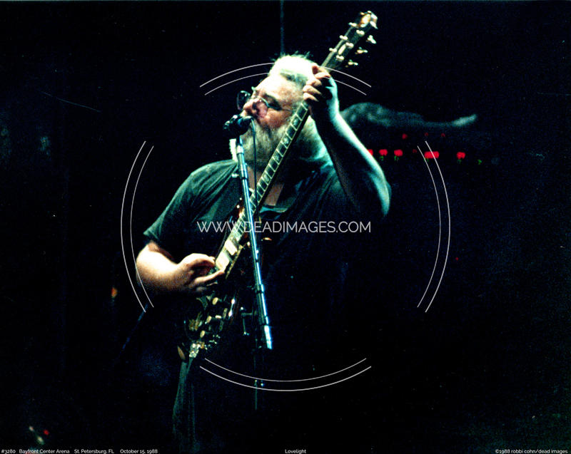Jerry Garcia - October 15, 1988
