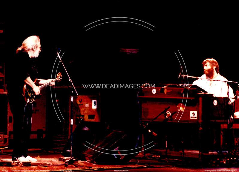 Jerry Garcia, Brent Mydland - June 19, 1989