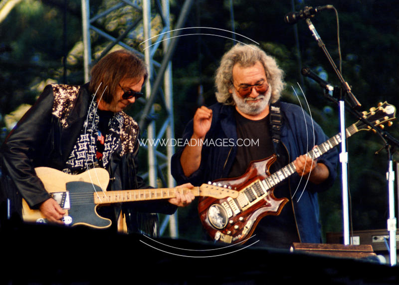 Jerry Garcia, Neil Young - November 3, 1991