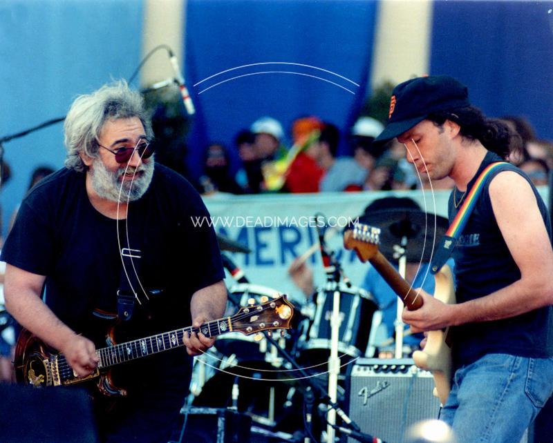 Jerry Garcia, Steve Kimock - July 16, 1988