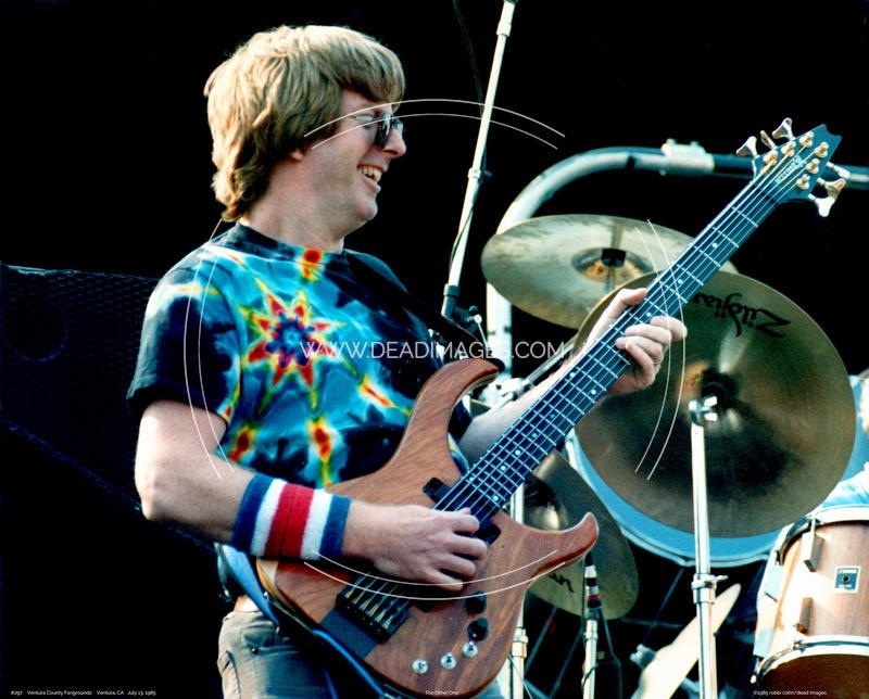 Phil Lesh - July 13, 1985