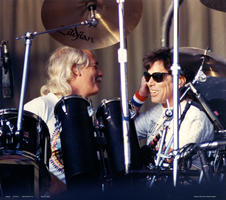 Bill Kreutzman, Mickey Hart - May 20, 1992