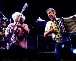 Jerry Garcia, Bruce Hornsby - June 25, 1993