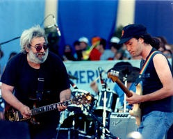 Jerry Garcia, Steve Kimock - July 16, 1988